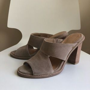 Ugg suede mules - brand new!